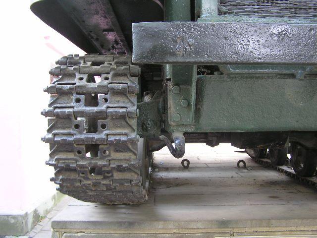 Крепление бампера и передний буксирный прибор