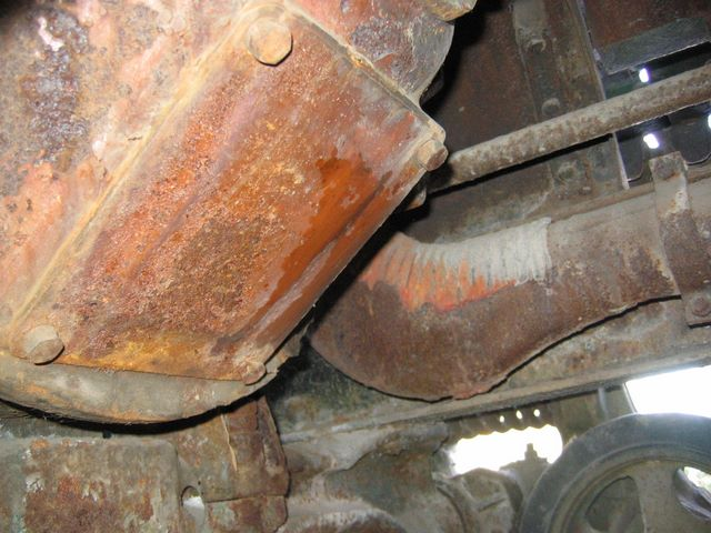 Лючок в КПП трактора СТЗ-5