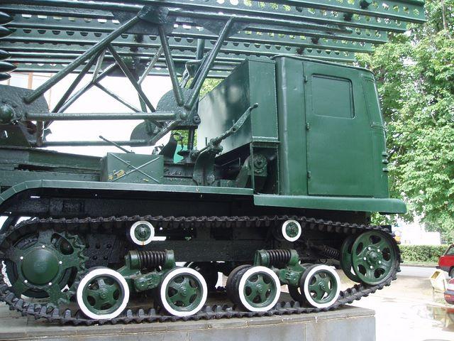 Правый борт СТЗ-5