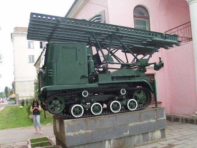Левый борт трактора СТЗ-5