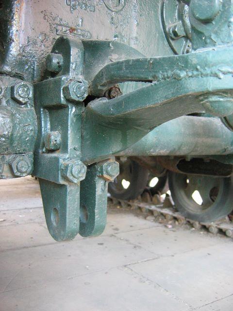 Крепление буксирного прибора трактора СТЗ-5