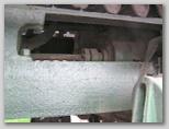 Фрагмент рамы трактора
