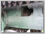 Крепление фермы пусковой установки М-13 к раме трактора СТЗ-5-НАТИ