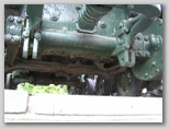 Задняя часть трактора вид снизу
