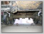 Балка подвески трактора