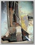 Отводящий патрубок системы охлаждения двигателя 1МА - вид снизу