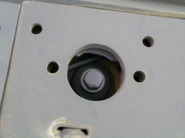 Крышка горловины кормового топливного бака