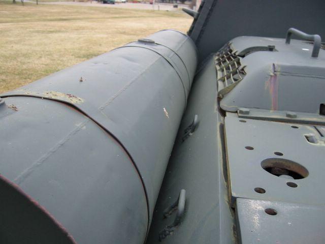 Вид вдоль левого подкрылка САУ
