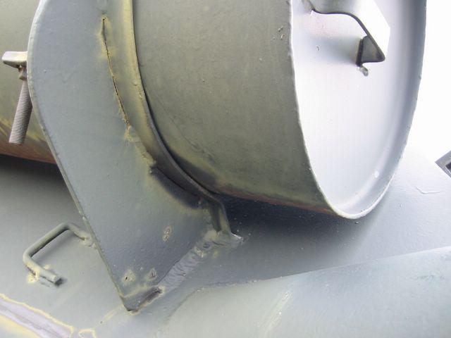 Кронштейн крепления внешнего топливного бака
