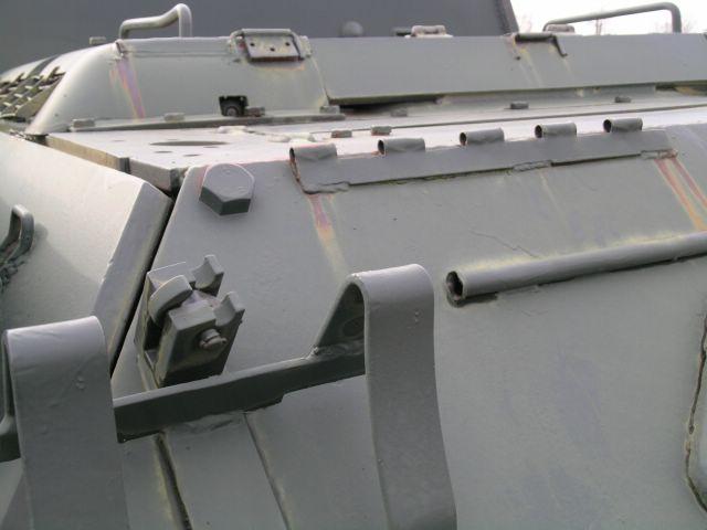 Фрагмент кронштейна для  установки дымовой шашки