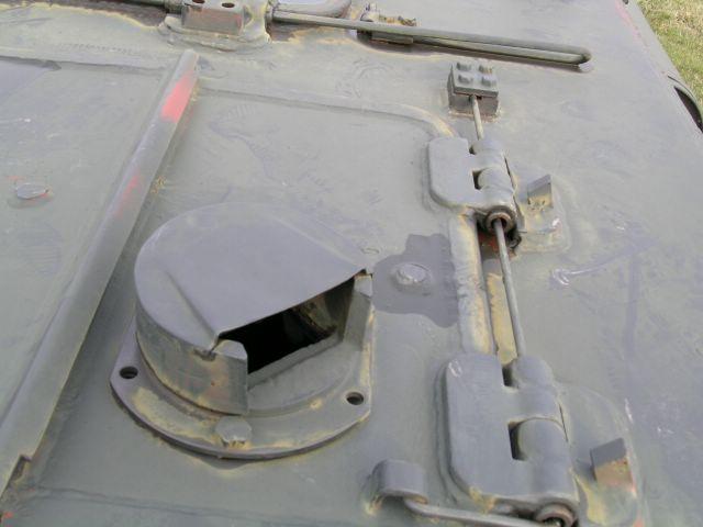 Прибор наблюдения в крышке люка панорамы