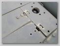 Фрагмент поперечных жалюзи и бокового листа крыши МТО