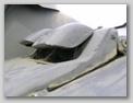 Броневые крышки прибора наблюдения механика-водителя вид слева