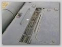 Бронеколпак продольных жалюзи и люк доступа к двигателю
