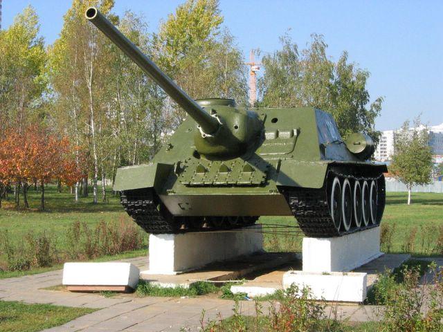 Общий вид САУ СУ-100