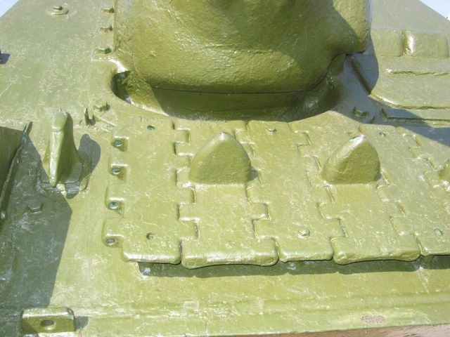 Запасные траки гусеничной цепи