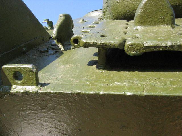 Безбалочное соединение лобовых листов корпуса САУ СУ-100