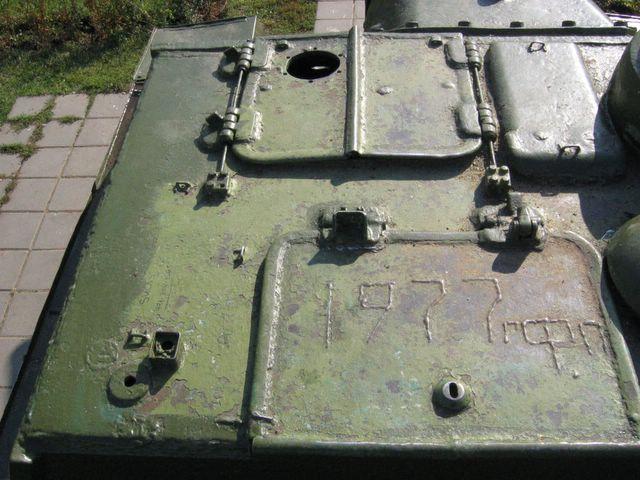 Люки в крыше боевого отделения