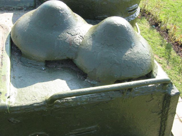 Бронеколпаки вентиляторов боевого отделения