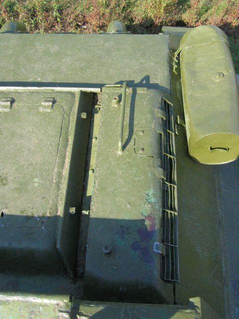Вид сверху на левую часть крыши МТО