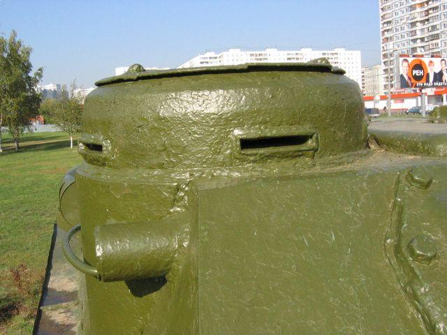 Смотровая щель в командирской башенке