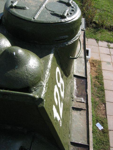 Вид вдоль правого переднего листа подкрылка