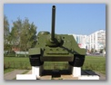 Вид спереди на САУ-100