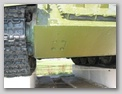 Крышка лючка доступа к механизму натяжения гусеницы СУ-100