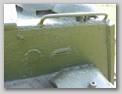 Правая часть заднего листа боевого отделения