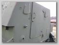 Задняя стенка бронерубки СУ-76М