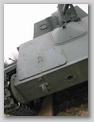 Передняя-правая часть корпуса САУ СУ-76М, крупным планом