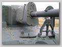 Бронировка противооткатных устройств орудия САУ