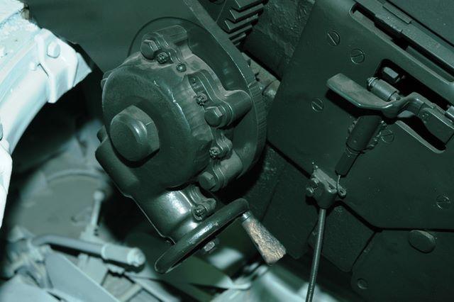 Механизм подъёма орудия Ф-34