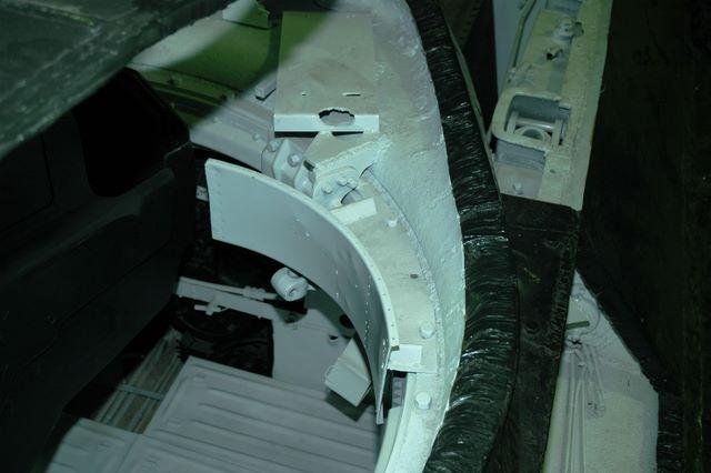Фрагмент башни танка Т-34-76