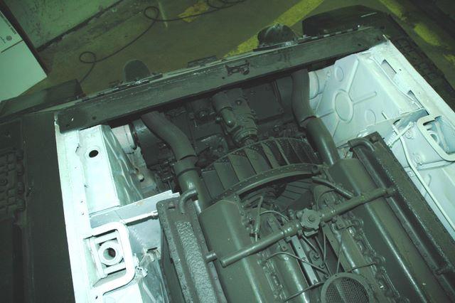 Вентилятор главного фрикциона танка Т-34