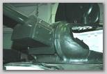 Маска орудия, вид слева-спереди