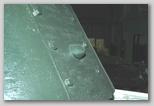 Пистолетный порт в задней стенке башни