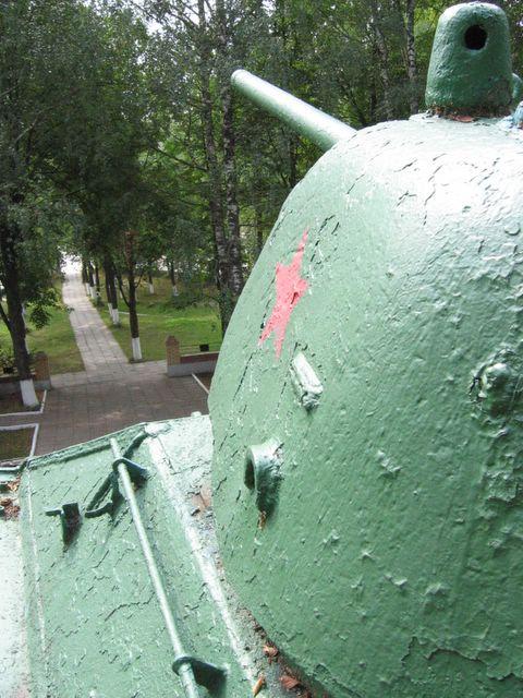 Часть левого борта башни