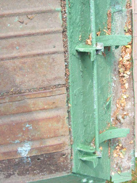 Задняя часть правого подкрылка