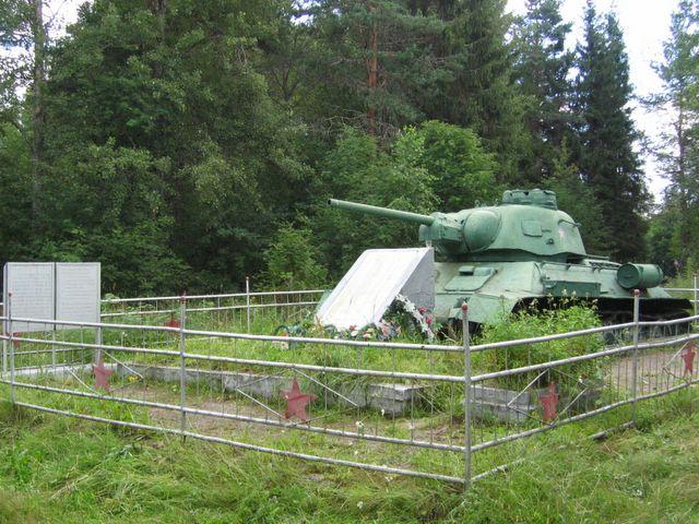 Танк Т-34-76 д. Самбатукса