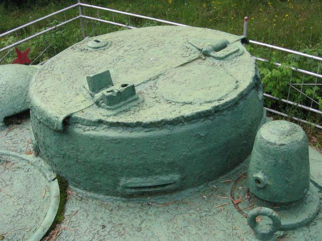 Передняя-левая часть крыши башни