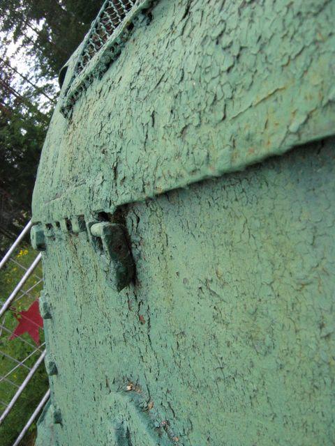 Защёлка-лягушка, вид сбоку