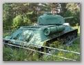 Вид спрва на заднюю часть корпуса танка