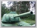 Вид спереди-справа на башню танка
