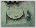 Заглушка на месте установки смотрового прибора