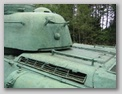 Задняя часть башни и бронировки МТО танка