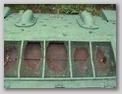 Вид сверху на среднюю часть кормы танка