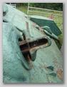 Вид снизу на бронемаску пулемёта