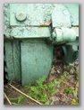 Картер бортовой передачи и петля откидного кормового листа