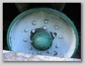 Первый опорный каток правого борта, грузошина - не сохранилась